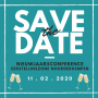 Save the date nieuwjaarsconference 2020